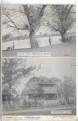 Multi View Post Card-Freeport,Long Island,New York UDB - Cakcollectibles