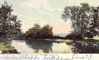 Codorus Creek near Y.M.C.A. Grounds-York,Pennsylvania UDB - Cakcollectibles