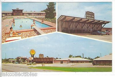 Bennettsville Motel-Brandin' Iron Restaurant-Nennettsville,South Carolina - Cakcollectibles