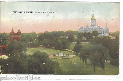 Bushnell Park-Hartford,Connecticut - Cakcollectibles