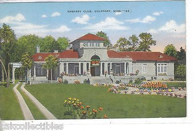 Embassy Club-Gulfport,Mississippi - Cakcollectibles