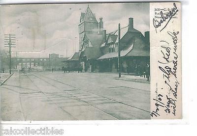 C. & O. Railroad Station-Newport News,Virginia 1905 - Cakcollectibles - 1