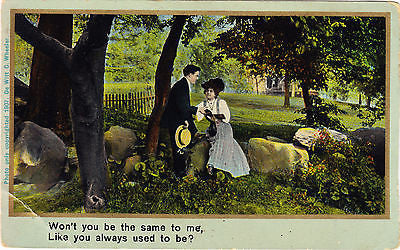 Won't You Be The Same To Me Postcard - Cakcollectibles