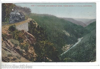 Cape Horn and American River,Ogden Route,S.P.R.R.-California - Cakcollectibles