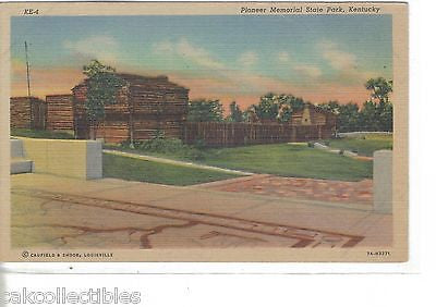 Pionee Memorial State Park-Kentucky (Linen Post Card) - Cakcollectibles
