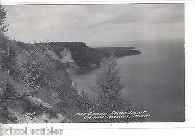 RPPC-The Grand Sable Light-Grand Marais,Michigan - Cakcollectibles - 1