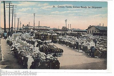 Cotton Yards-Cotton Ready For Shipment - Cakcollectibles