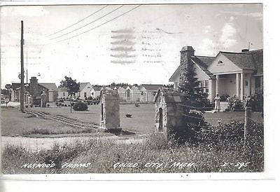 RPPC-Norwood Farms-Gould City,Michigan 1947 - Cakcollectibles - 1
