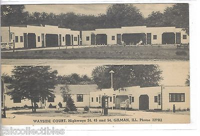 Wayside Court-Gilman,Illinois - Cakcollectibles