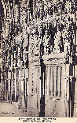 Cathedrale De Chartres France Postcard - Cakcollectibles