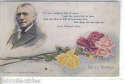 Early Post Card-Riley Rose-Cob Shinn 1908 - Cakcollectibles