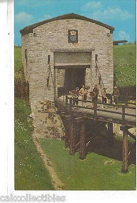 Main Gate and Drawbridge,Old Fort Niagara-New York - Cakcollectibles