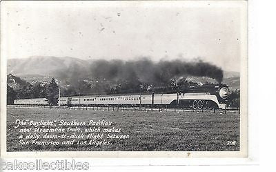 RPPC-Southern Pacific's Daylight (Los Angles to San Francisco) #2 - Cakcollectibles - 1