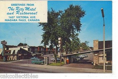 The Ritz Motel and Restaurant-Niagara Falls,Canada - Cakcollectibles - 1