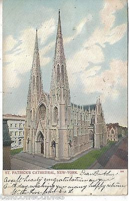 St. Patrick's Cathedral-New York City 1906 - Cakcollectibles