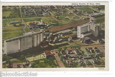 Aerial View-Milling District-El Reno,Oklahoma - Cakcollectibles