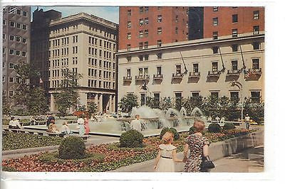 Mellon Square-Pittsburgh,Pennsylvania 1970 - Cakcollectibles