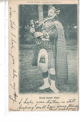 Black Watch Piper 1902 - Cakcollectibles
