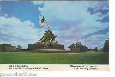 Iwo Jima Memorial-Arlington,Virginia - Cakcollectibles