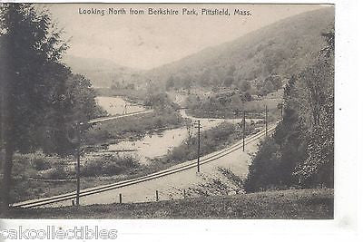 Looking North from Berkshire Park-Pitsfield,Massachusetts - Cakcollectibles
