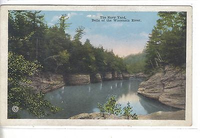 The Navy Yard-Dells of The Wisconsin River-Wisconsin - Cakcollectibles