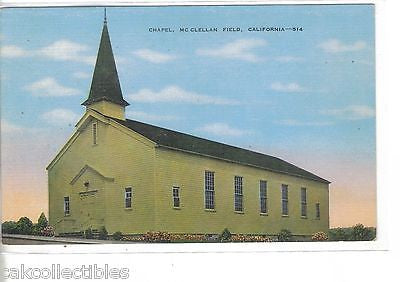 Chapel,McClellan Field-California - Cakcollectibles