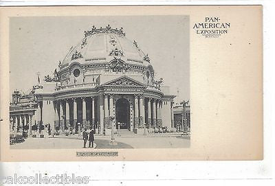 Building of Ethnology-Pan-American Exposition-Buffalo PMC - Cakcollectibles - 1