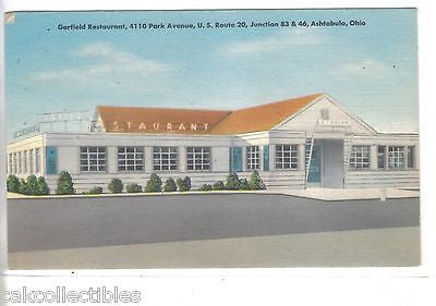Garfield Restaurnt-Ashtabula,Ohio 1955 - Cakcollectibles - 1