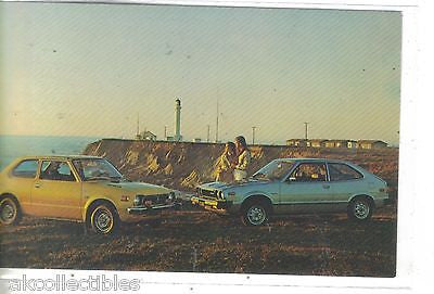 1977 Honda Civic and Accord-Vintage Post Card - Cakcollectibles - 1