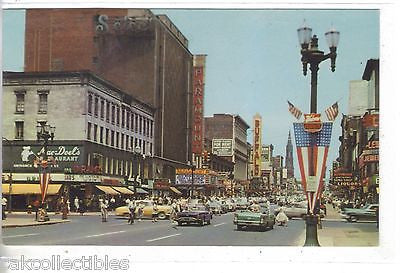 View of Main Street in Downtown Buffalo,New York - Cakcollectibles