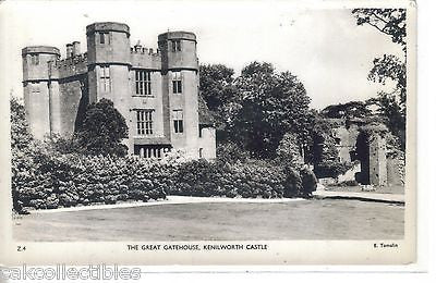 RPPC-The Great Gatehouse-Kenilworth Castle - Cakcollectibles