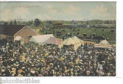 Fair at North Branch,Michigan 1910 - Cakcollectibles - 1