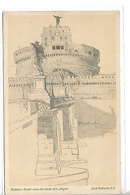 Hadiran's Tomb - Now The Castle of S. Angelo - Cakcollectibles