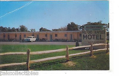 Milford Traveler Motel-Milford,Delaware - Cakcollectibles