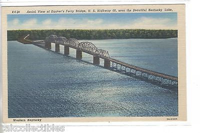 Aerial View of Eggner's Ferry Bridge over Kentucky Lake-Kentucky - Cakcollectibles