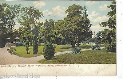 Lover's Retreat,Roger Williams Park-Providence,Rhode Island UDB - Cakcollectibles