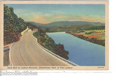 Jonas Bluff on Lookout Mountain-Chattanooga,Tennessee to Point Lookout - Cakcollectibles