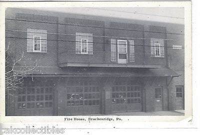 Fire House-Brackenridge,Pennsylvania - Cakcollectibles - 1