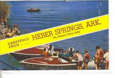 Greetings From Herber Springs, Arkansas - Cakcollectibles