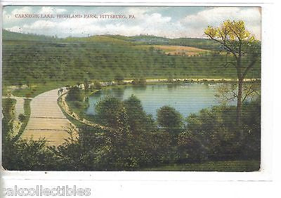 Carnegie Lake,Highland Park-Pittsburg,Pennsylvania 1909 - Cakcollectibles