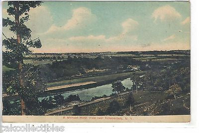 A Mohawk River View near Schenectady.New York 1909 - Cakcollectibles