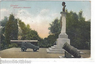 Wellington's Monument-Gibraltar 1909 - Cakcollectibles
