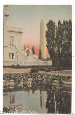Aztec Garden-Washington,D.C. (Hand Colored) - Cakcollectibles