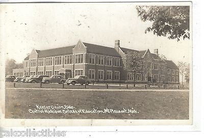 RPPC-Keeler Union Bldg.,Central Michigan College of Education-Mt. Pleasant,Mich. - Cakcollectibles - 1