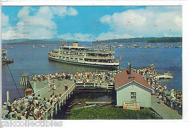 """Mount Washington"" at the Boat-O-Rama-Weirs Beach,New Hampshire 1964 - Cakcollectibles"