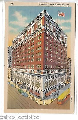 Roosevelt Hotel-Pittsburgh,Pennsylvania - Cakcollectibles