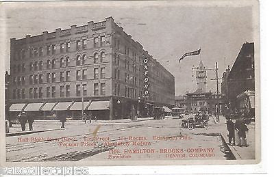 The Oxford Hotel-Denver,Colorado 1907 - Cakcollectibles - 1
