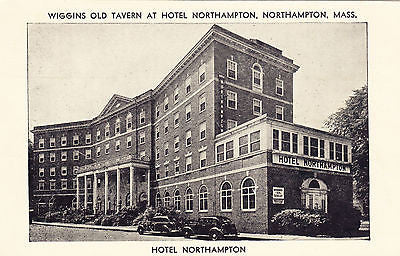Wiggins Old Tavern At Hotel Northhampton, Mass. Postcard - Cakcollectibles