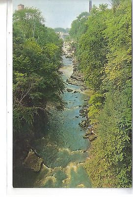 View of River Gorge Looking North From Glens Bridge - Cakcollectibles