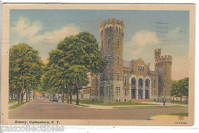 Armory-Ogdensburg,New York 1942 - Cakcollectibles
